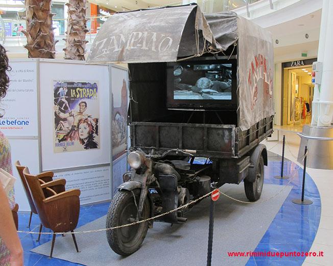 Le moto di Fellini