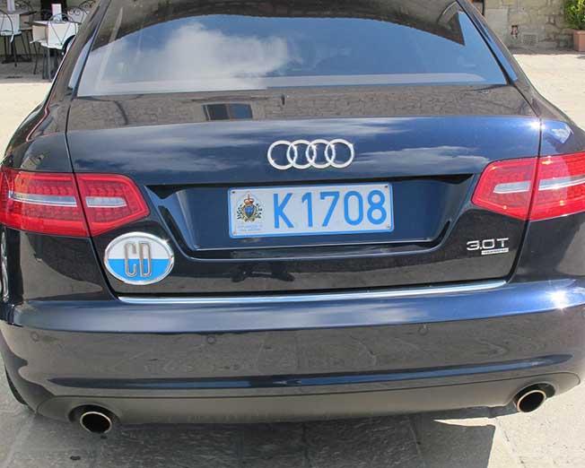 San Marino La Quot Patacca Quot Diplomatica Sulle Auto Blu Della
