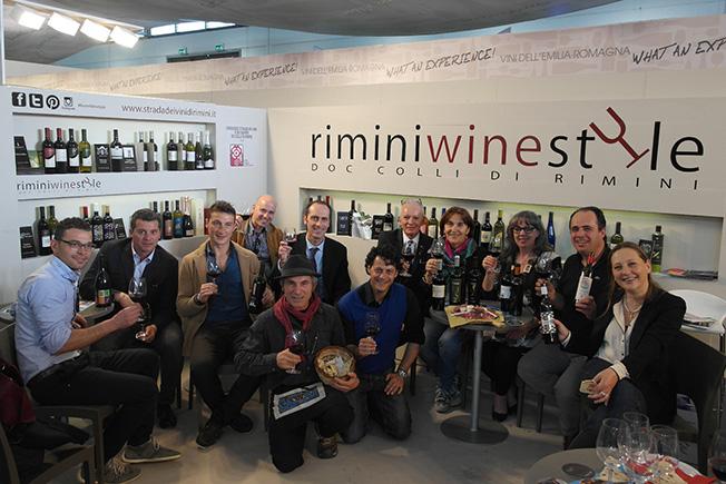 """Ritratto del vino made in Rimini che """"sfila"""" a Vinitaly"""