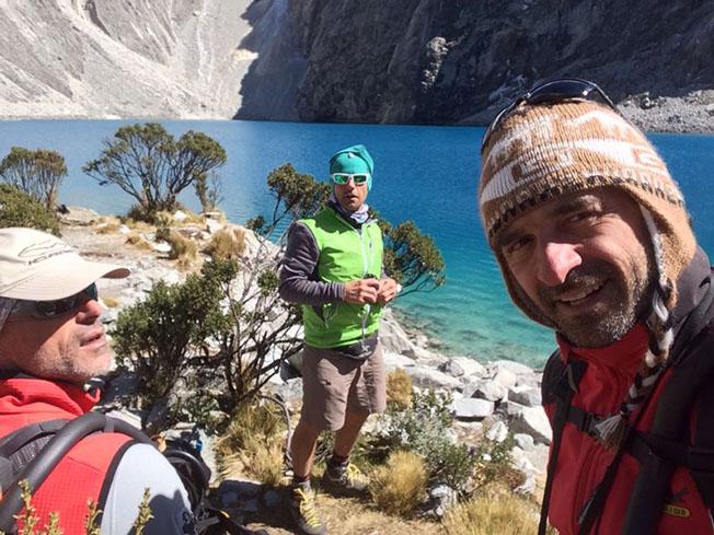 Gli auguri di Ferragosto dalle Ande Peruviane (quota 5000 metri)