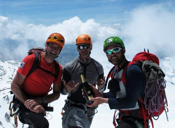 Un riminese e due sammarinesi sui ghiacciai delle Ande
