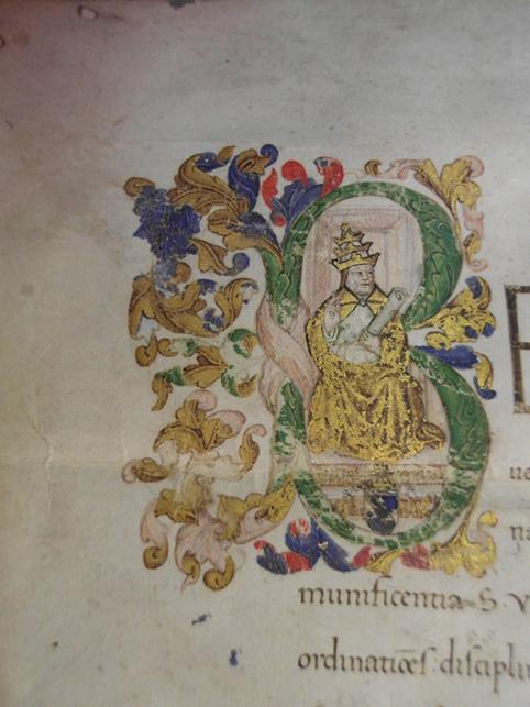 Restaurata la Bolla pontificia del 1442 che istituisce la Confraternita di S. Girolamo