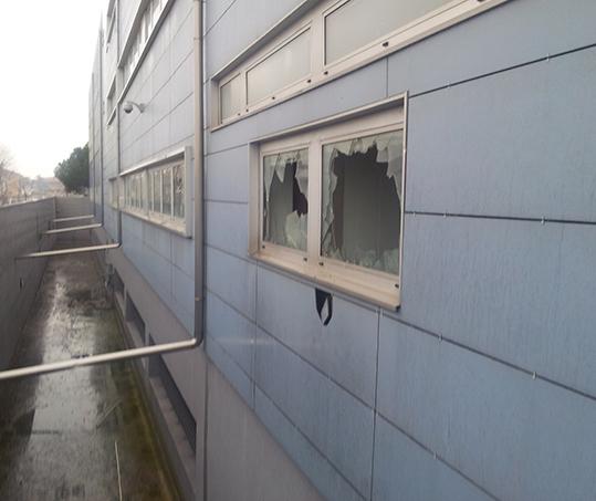 Nuova questura allagata, la Protezione civile ha tolto acqua per tre giorni