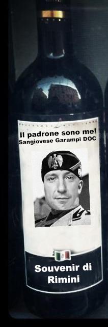 Basta souvenir di Mussolini! C'è il Sangiovese Garampi DOC