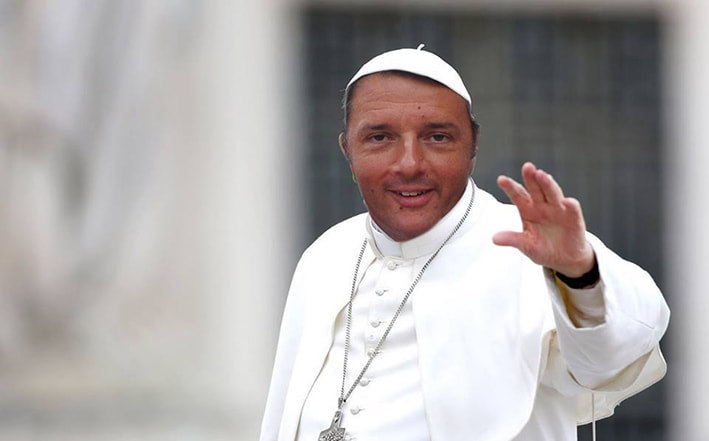 Paolo Maggioli è stato ricevuto da Sua Santità Matteo Renzi