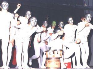 Zafra in una immagine di repertorio dello spettacolo Mecchano