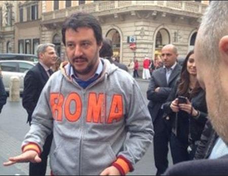 A Roma Salvini chiede unità al centrodestra, a Rimini rifila il solitario Marzio