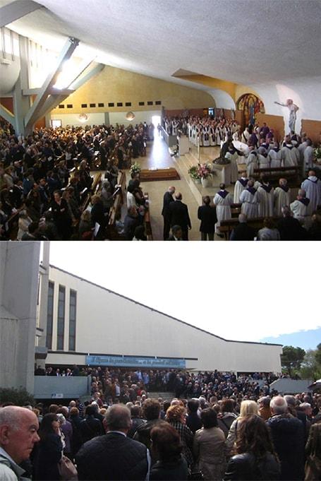 """Il saluto di Rimini a don Giuseppe Maioli, Lambiasi: """"Che miracolo, un prete contento"""""""