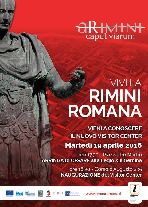 Il Visitor Center della Rimini Romana e l'Anfiteatro alieno