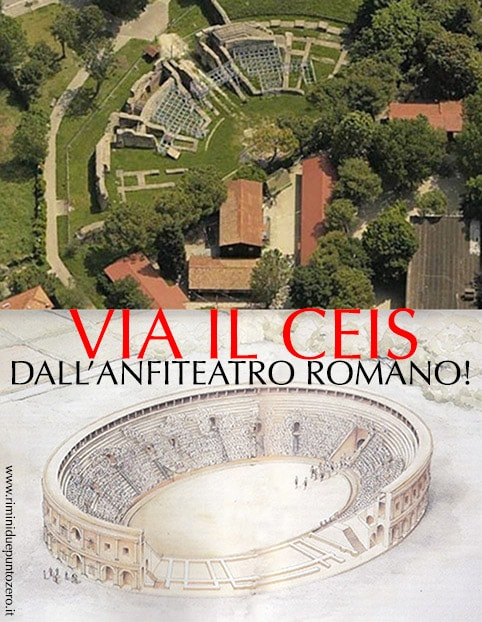 Anfiteatro romano: oltre mezzo secolo di promesse non mantenute dal Comune di Rimini e dal Ceis