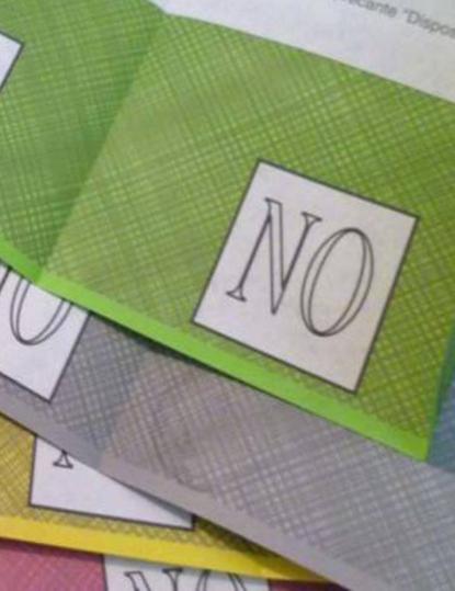 Serenamente voto No