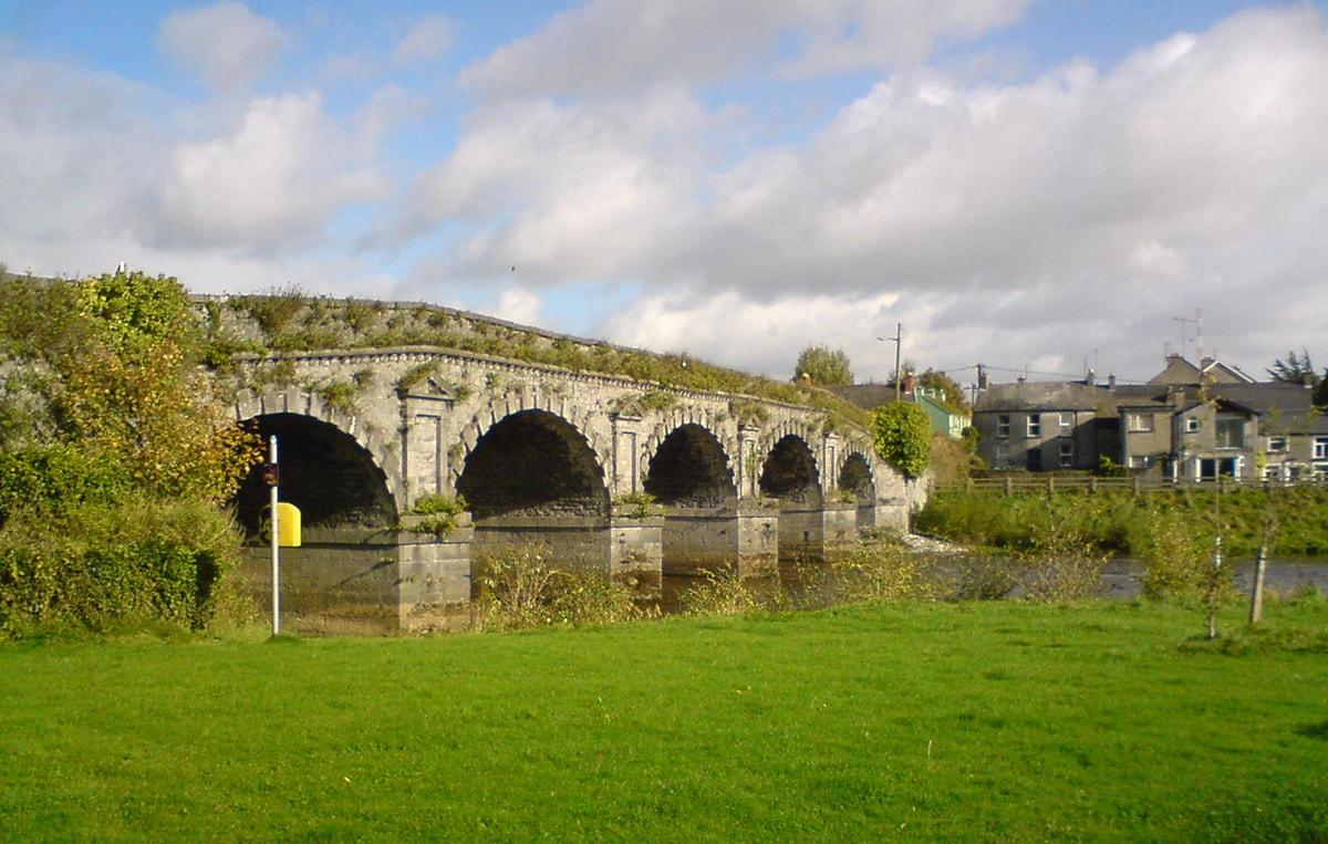 Clamorosa scoperta: il ponte di Tiberio ha un gemello irlandese