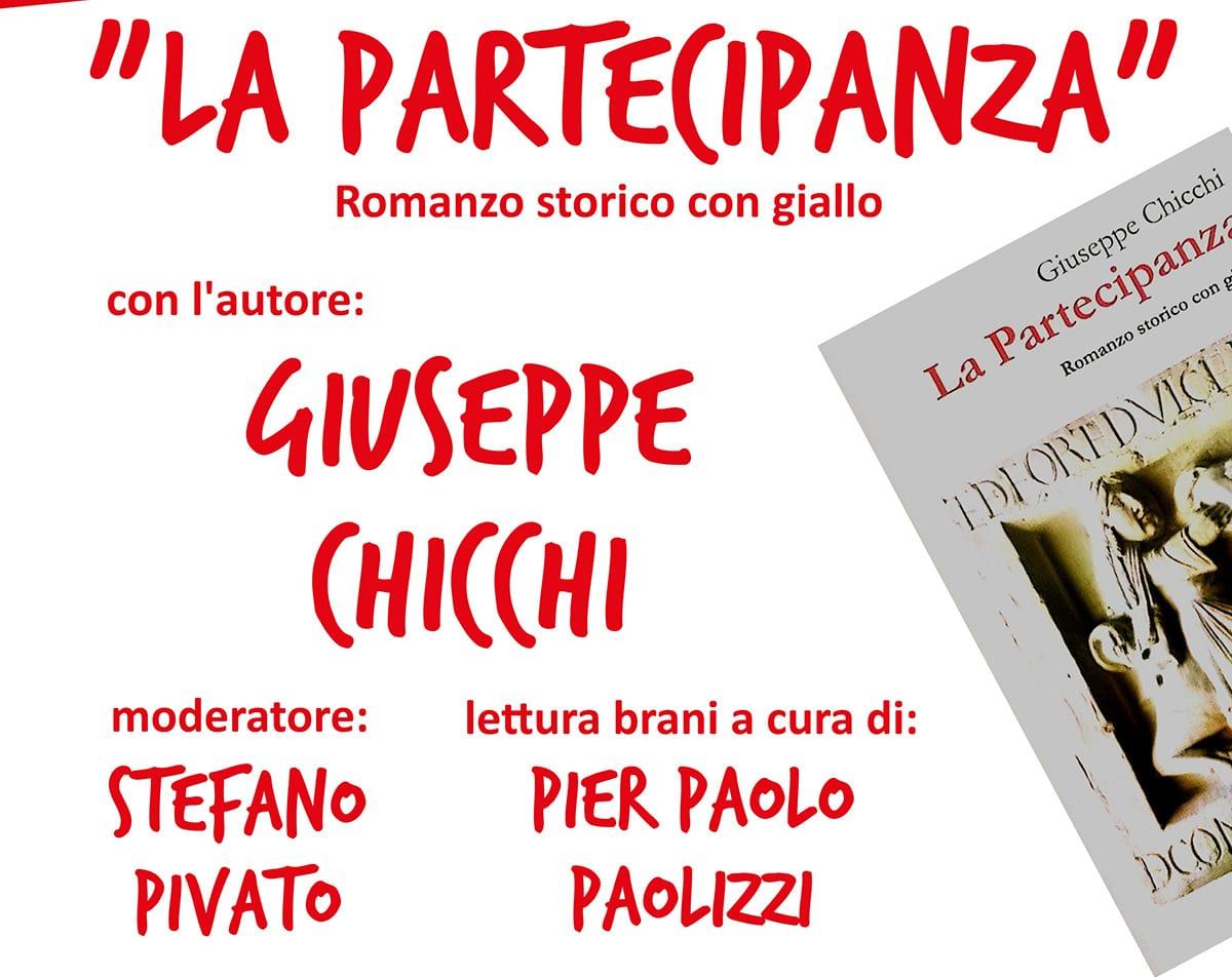 """Giuseppe Chicchi presenta """"La partecipanza"""""""