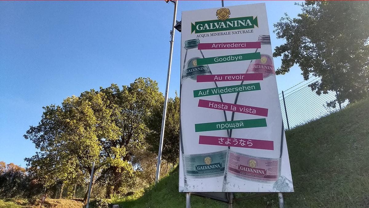 Galvanina: pochi euro di canone di concessione per imbottigliare milioni di litri di acqua minerale
