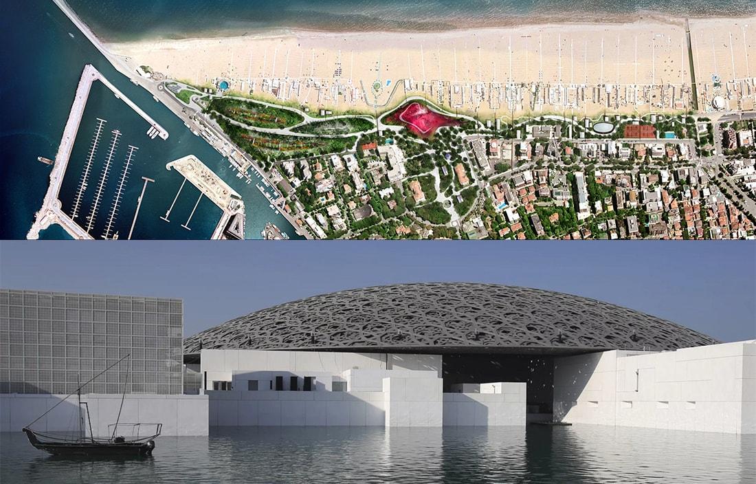 Jean Nouvel, snobbato a Rimini, sabato inaugura il Louvre del Golfo Persico