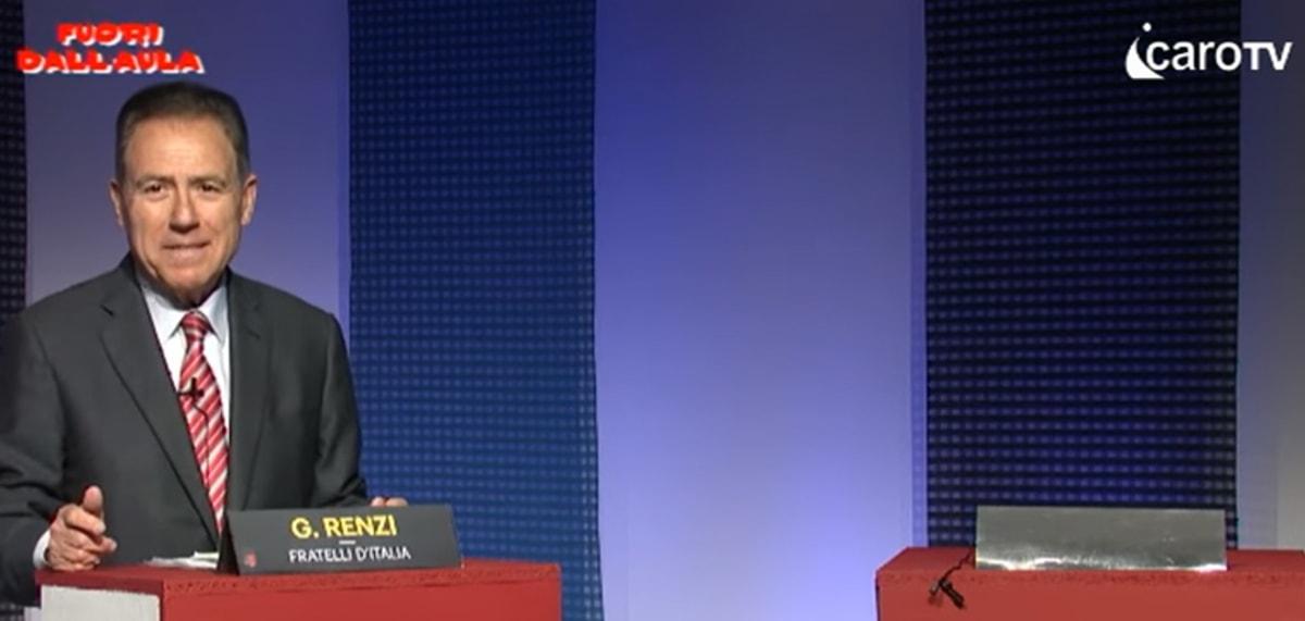 Maggioranza assente: Gioenzo Renzi lasciato solo in studio. I consiglieri del Pd scappano dal confronto
