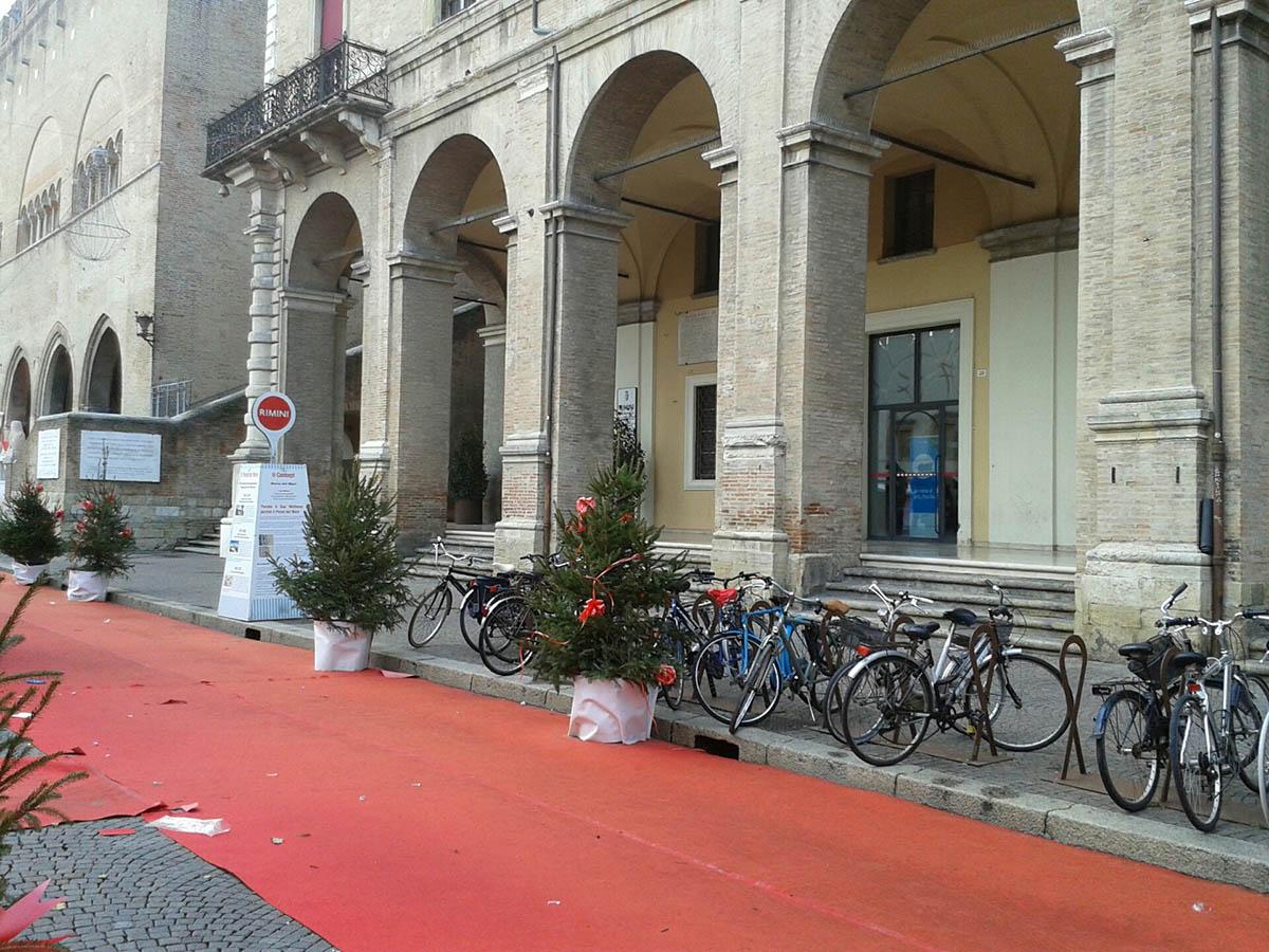 Finalmente piazza Cavour liberata dal rendering del parco del mare