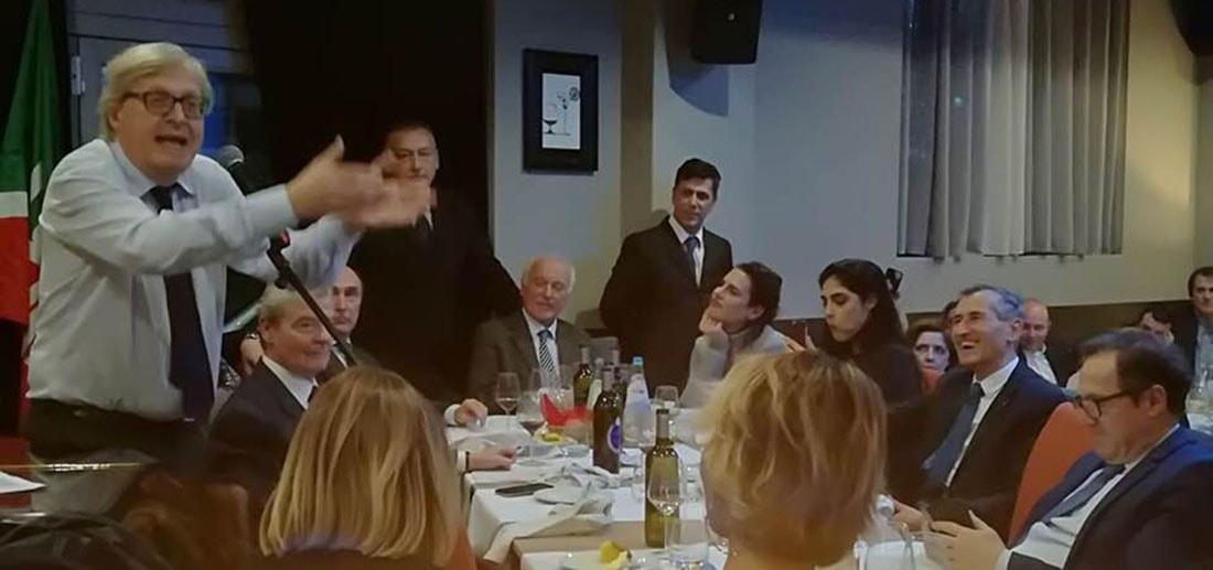 """Il """"Rinascimento"""" di Sgarbi e il """"Mir"""" di Samorì preparano le candidature: alla cena modenese anche Marco Lombardi"""