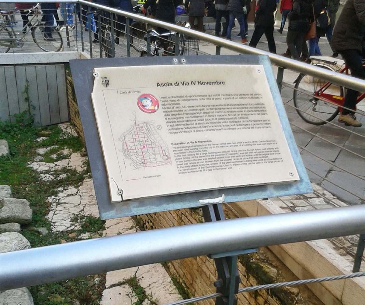 La Rimini romana: asole o ferite?