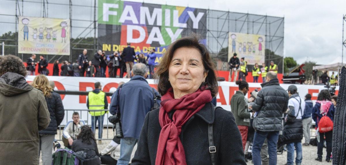 """Eugenia Roccella: """"Solo il centrodestra può garantire agibilità politica per i cattolici"""""""