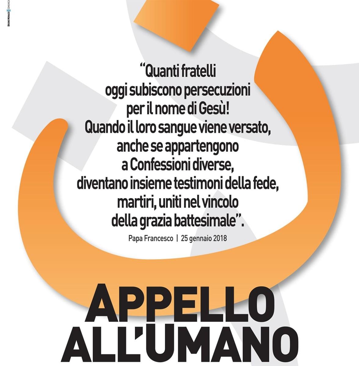 L'Appello all'Umano questa sera con Alessandro Monteduro