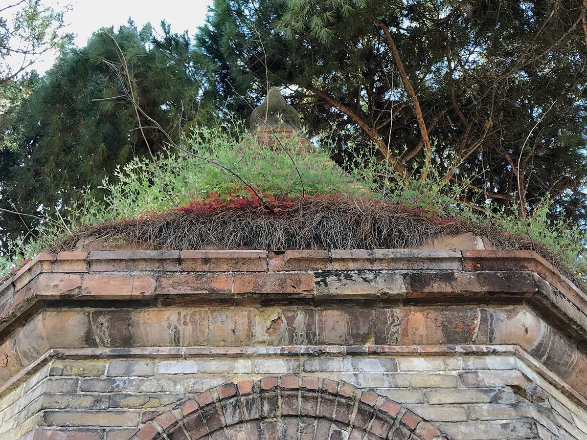 Ci vuole tanto a ripulire l'antica edicola di via Dario Campana?
