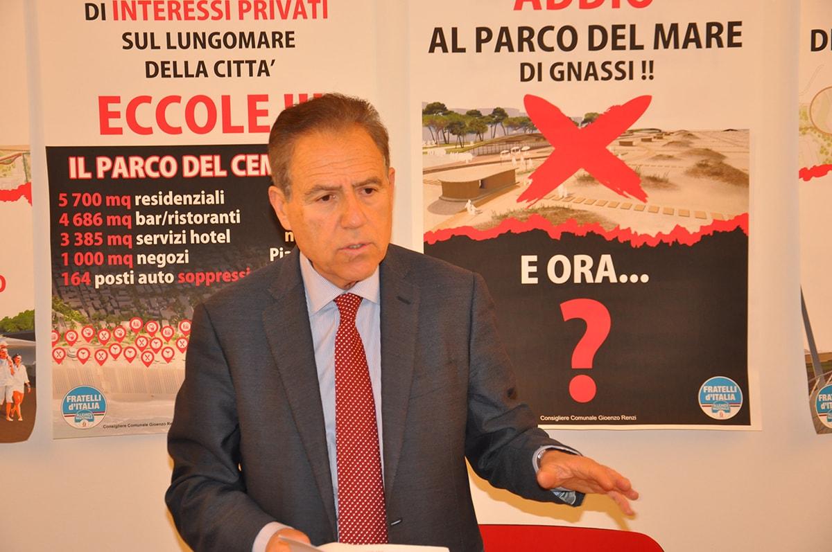"""""""Grazie Gioenzo Renzi"""": l'alleato di Gnassi tesse le lodi dell'oppositore"""