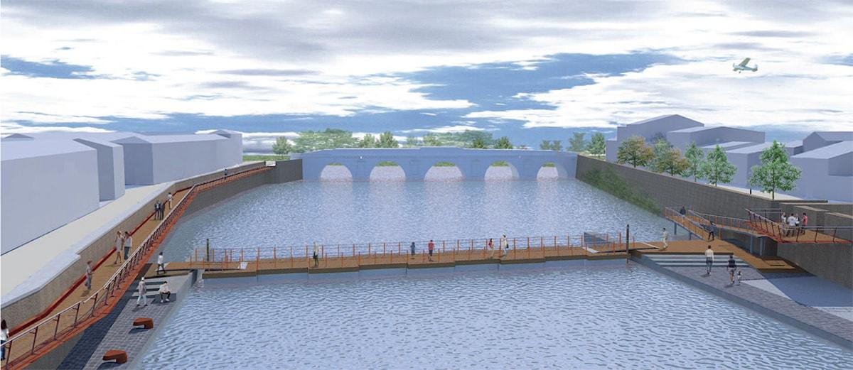 Ecco il macchinoso piano di protezione civile per 36 metri di passerella galleggiante