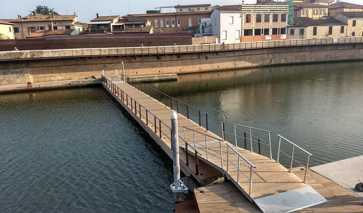 """La passerella galleggiante del ponte di Tiberio avrà un costo """"a vita"""""""