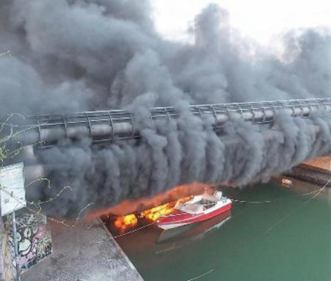 """Barche (e Maurizio Melucci) in fiamme: oggi in """"prima"""" e non solo"""