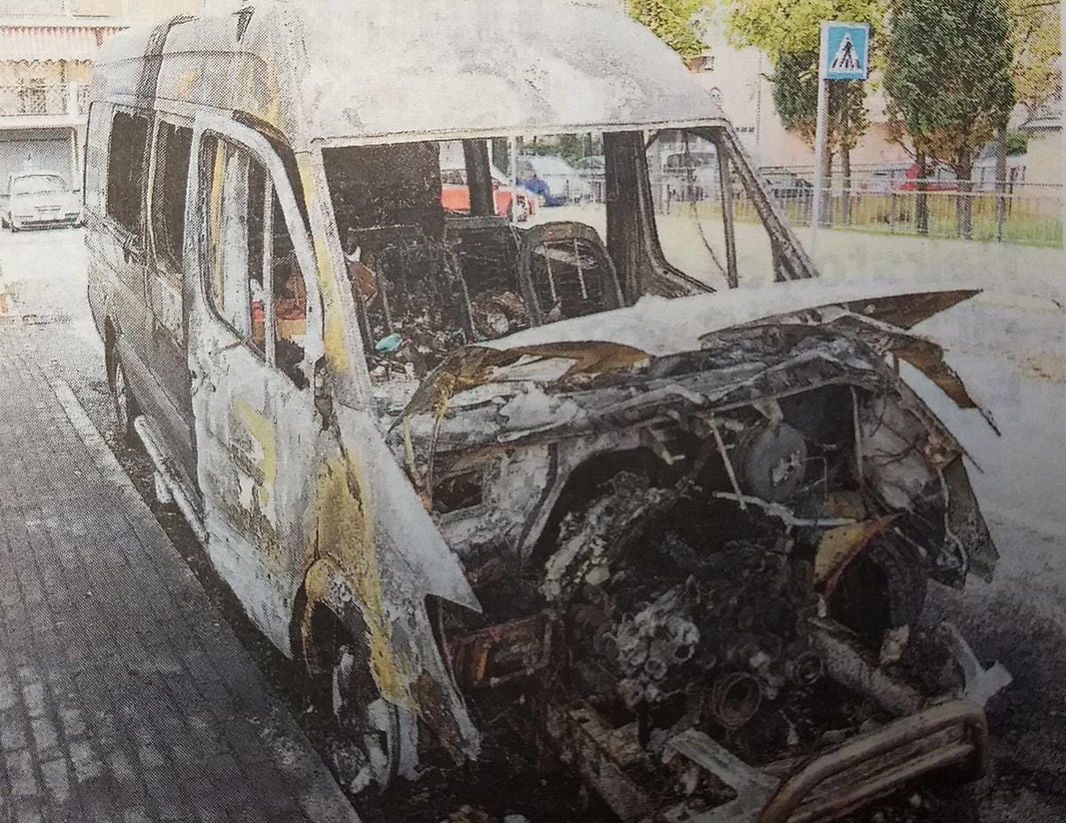 Attentato incendiario a Viserba: l'ombra del racket