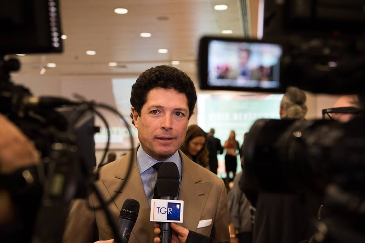 """Matteo Marzotto: """"Spiace anche a me lasciare Ieg"""""""