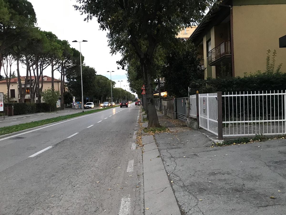 Via Panzini: i vigili hanno ascoltato il nostro consiglio