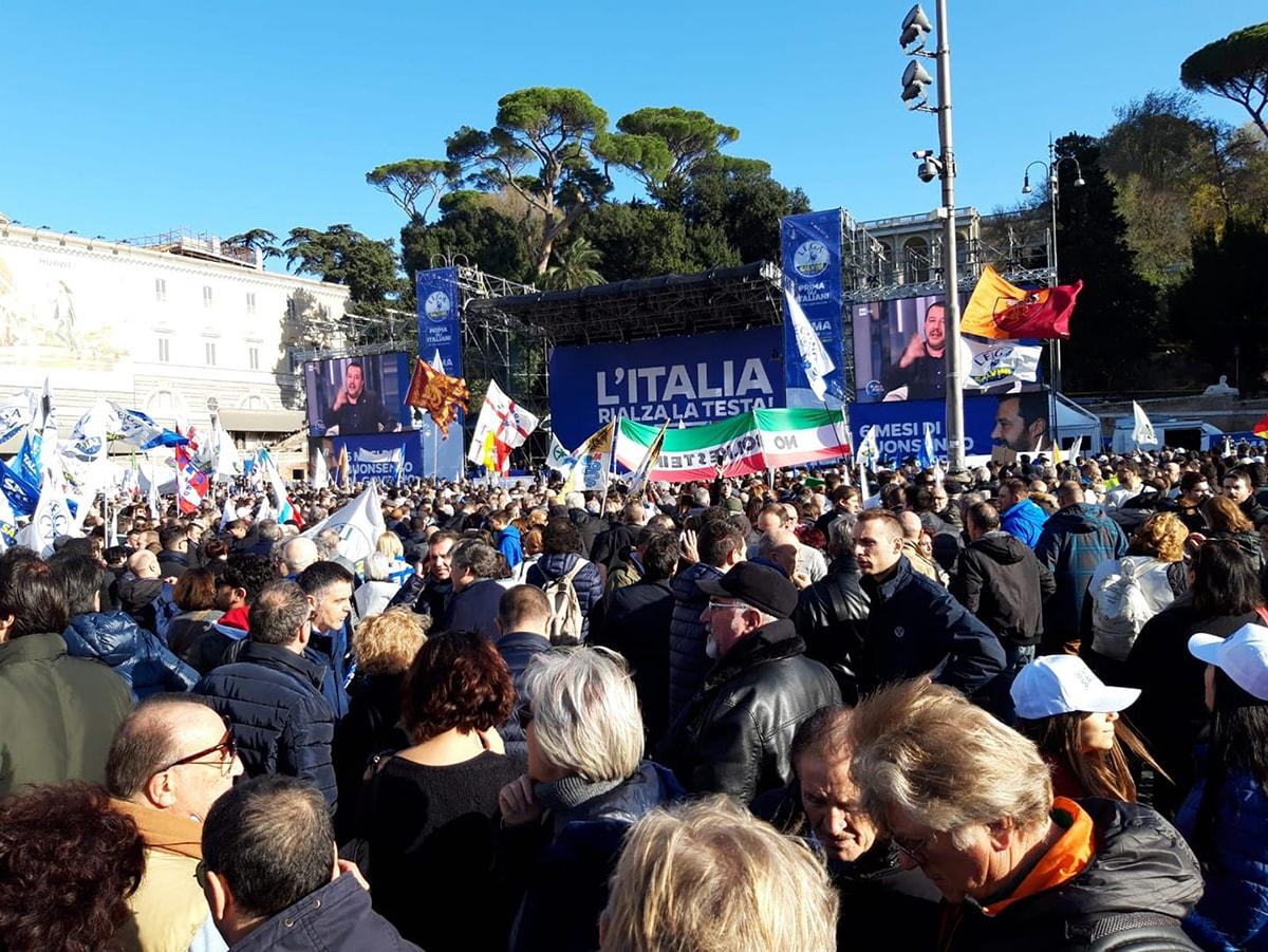 """Claudio Di Lorenzo: """"Perché ho partecipato alla manifestazione con Salvini"""""""