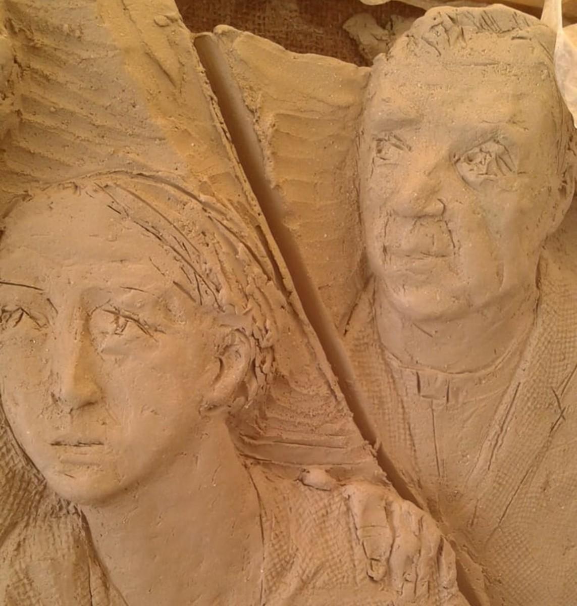 Modellare la santità: in esclusiva il nuovo monumento funebre a Sandra Sabattini