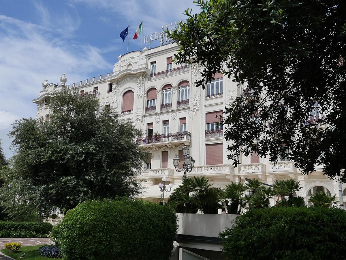 Matrimonio al Grand Hotel per l'assessore regionale al turismo Andrea Corsini