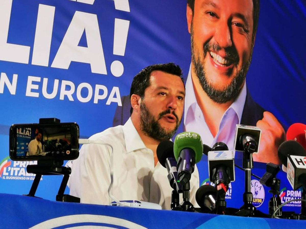 Europee: Salvini al comando in tutti i 25 comuni della provincia di Rimini