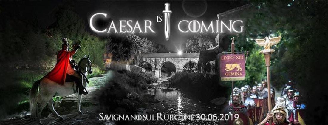 Cesare sta arrivando: a Savignano si celebra il passaggio del Rubicone