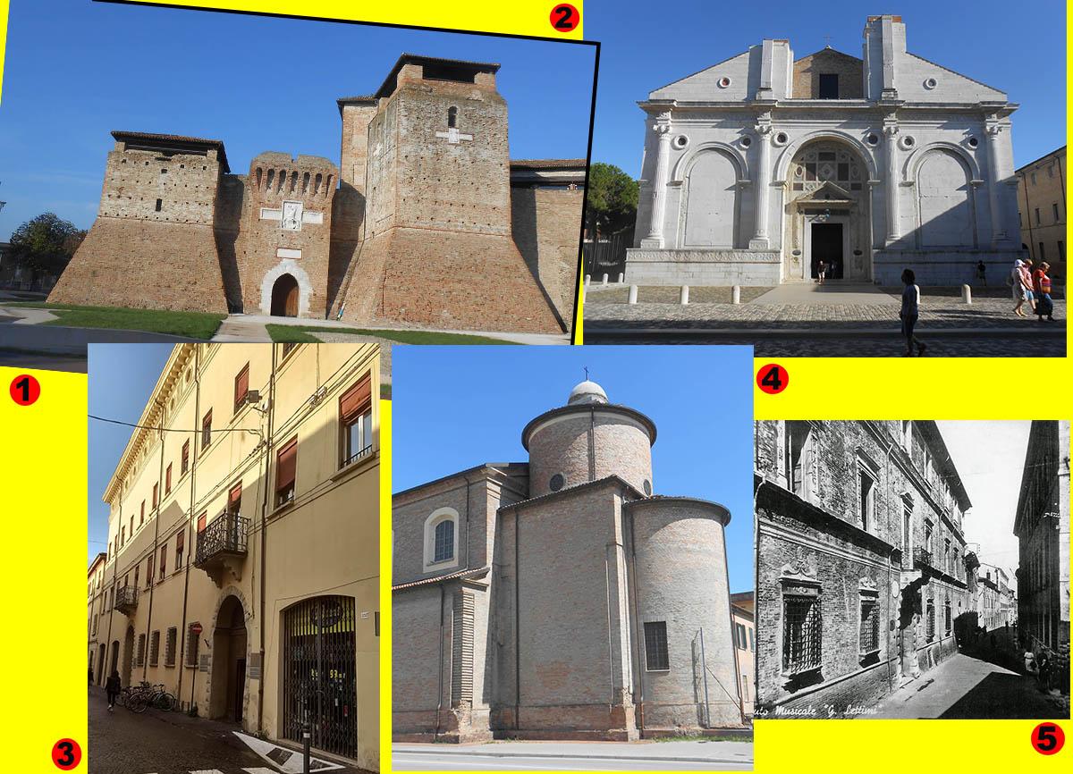 I cinque tesori rinascimentali del patrimonio culturale di Rimini