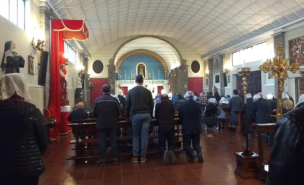A Spadarolo atto di riparazione contro la chiesa di Pachamama