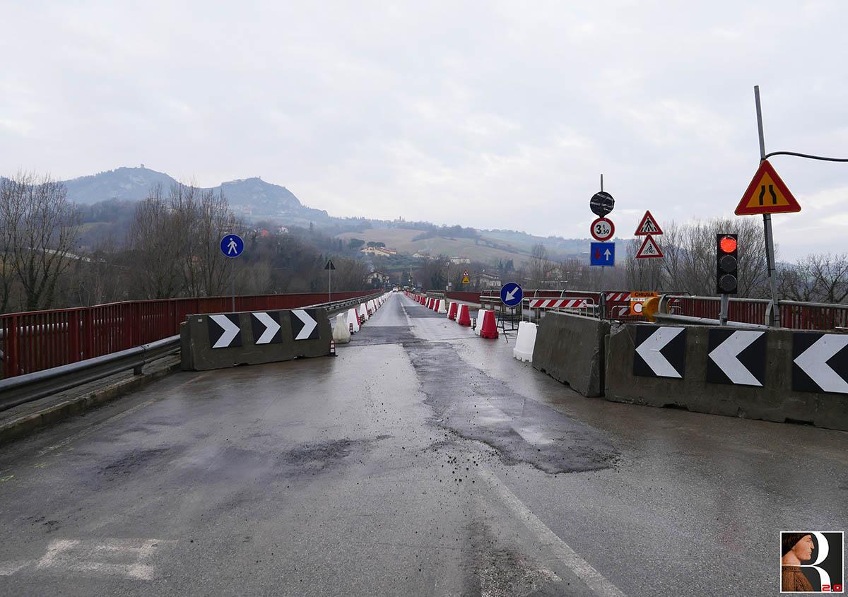 """La """"pezza"""" al ponte di Verucchio: ecco come ha riaperto"""