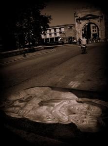 L'Arco d'Augusto com'è (foto Luciano Monti)