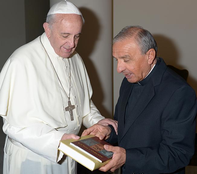 Don Renzo Rossi: a tu per tu col Papa