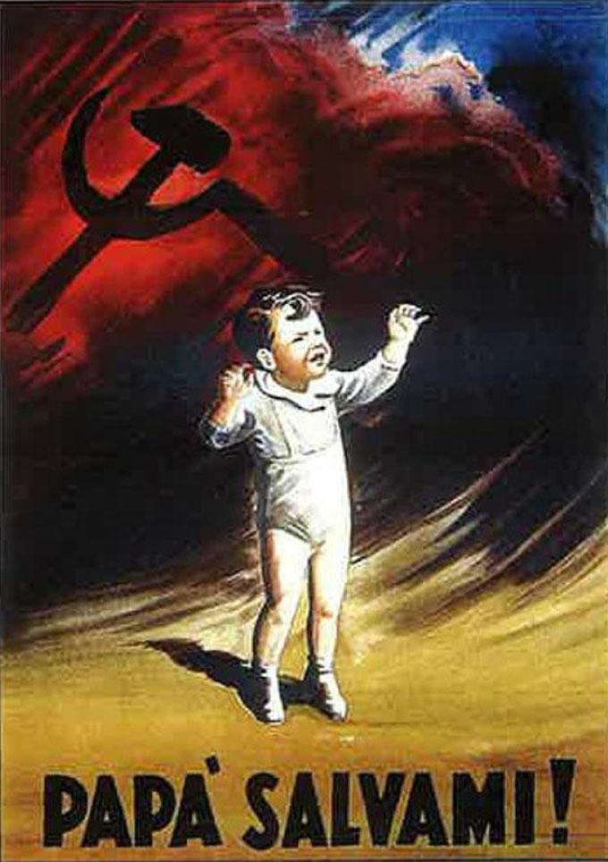 I comunisti e la rustida di burdèl