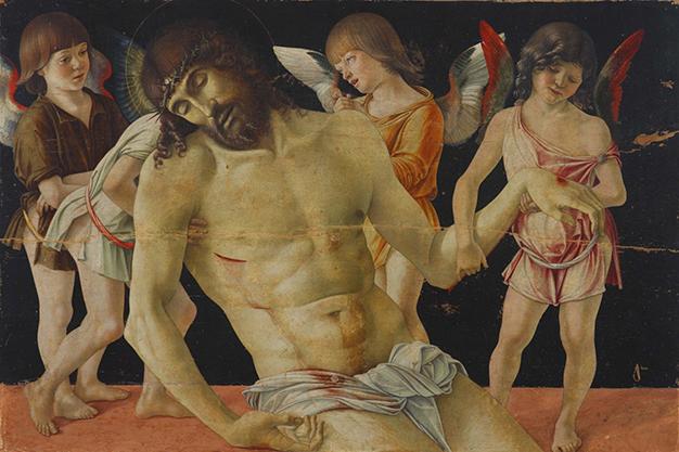 """La """"Pietà"""" di Bellini lascia il Museo di Rimini per la Pinacoteca di Brera"""