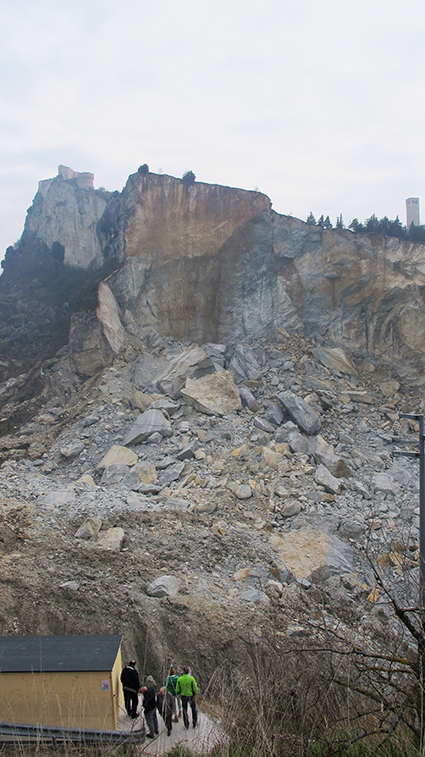 """Il prof. Valloni: """"San Leo, monumento della natura senza eguali, va considerato emergenza nazionale"""""""