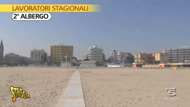 """Striscia la notizia contro il lavoro stagionale """"illegale"""" in Riviera"""