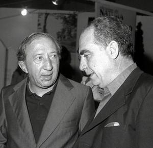Don Giancarlo Ugolini con don Giussani