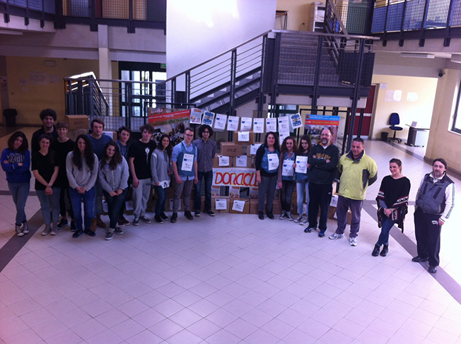 """""""Donacibo"""": educazione alla solidarietà al liceo Volta-Fellini di Riccione"""