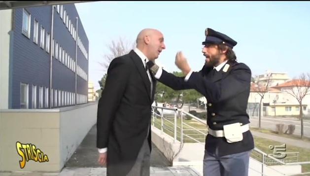 """""""Striscia"""" dentro la nuova questura e Brasini accusa la proprietà """"avida"""""""
